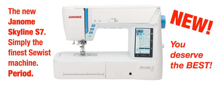 Janome Skyline S7