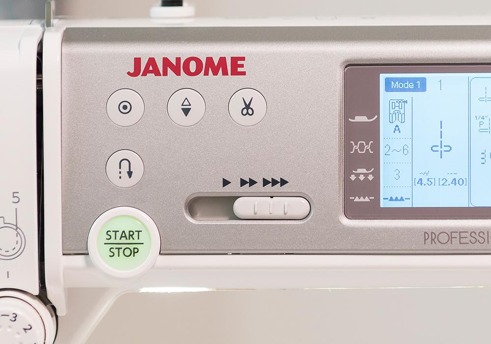 1200 spm lg - Janome Memory Craft 6700P