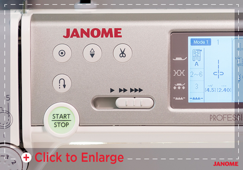 1200 spm sm - Janome Memory Craft 6700P
