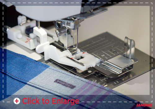 buttonhole sm - Janome Memory Craft 6700P