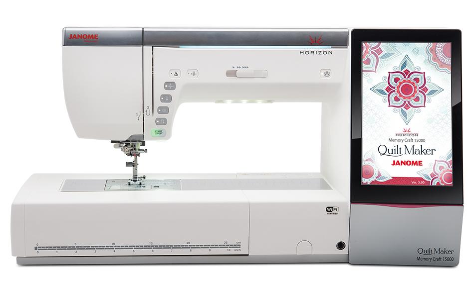 mc15k feature - Horizon Quilt Maker Memory Craft 15000