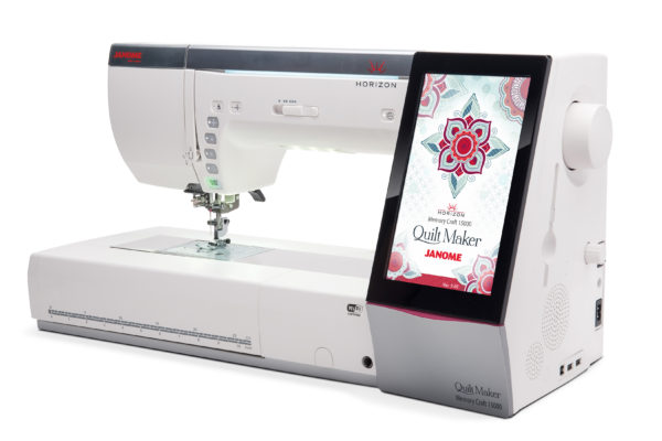 mc15k qm right 600x400 - Horizon Quilt Maker Memory Craft 15000