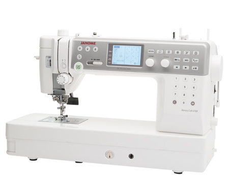 mc6700p back - Janome Memory Craft 6700 Professional