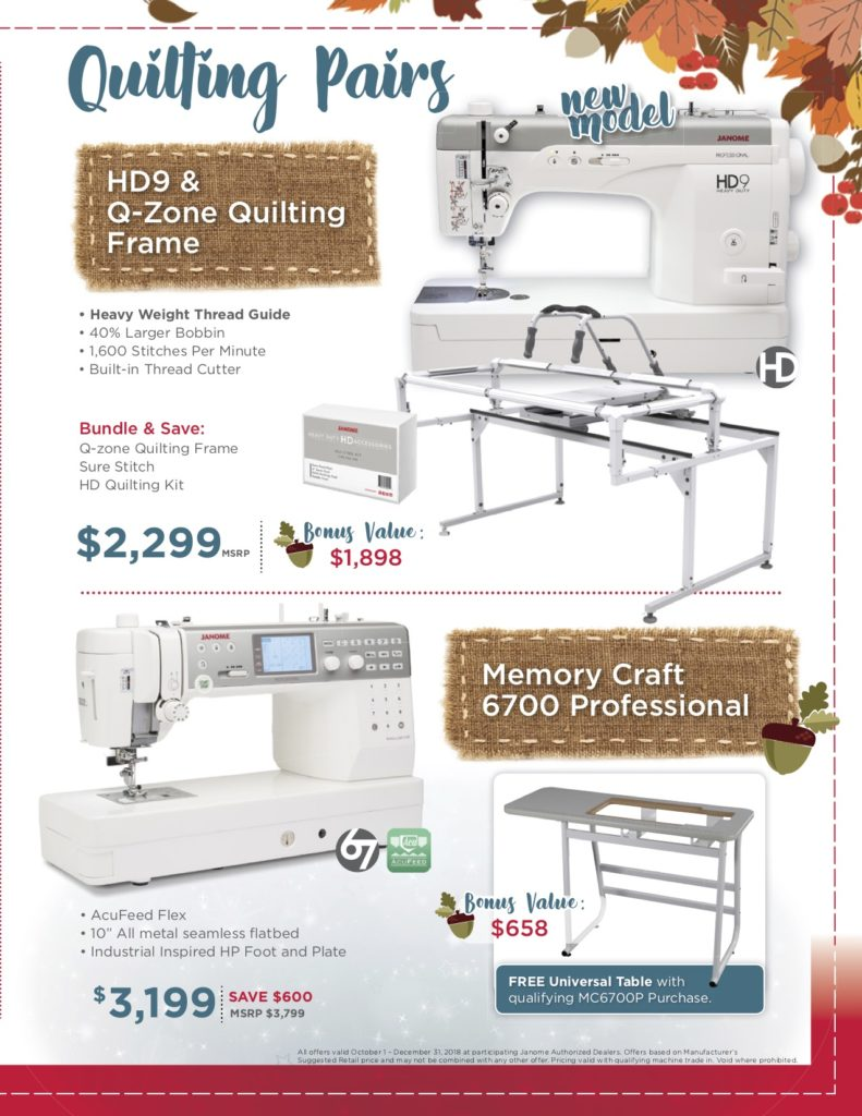 Janome Quilter