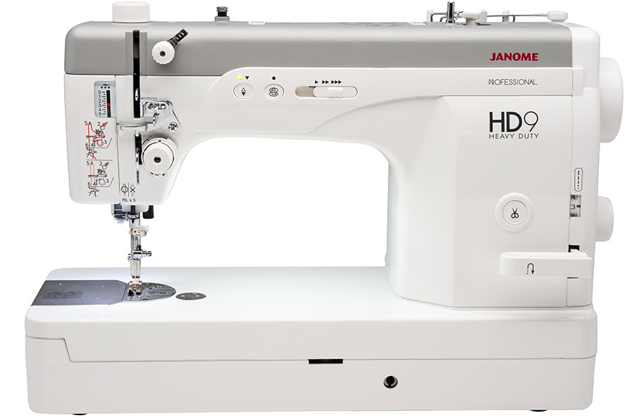 hd9 features - Janome HD9 Professional