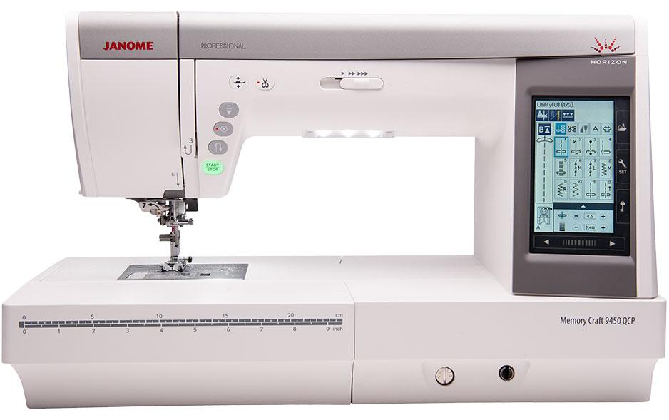 mc9450 feature - Janome Horizon Memory Craft 9450