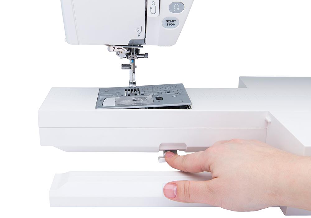one step needleplate enlarge - Janome Horizon Memory Craft 9450