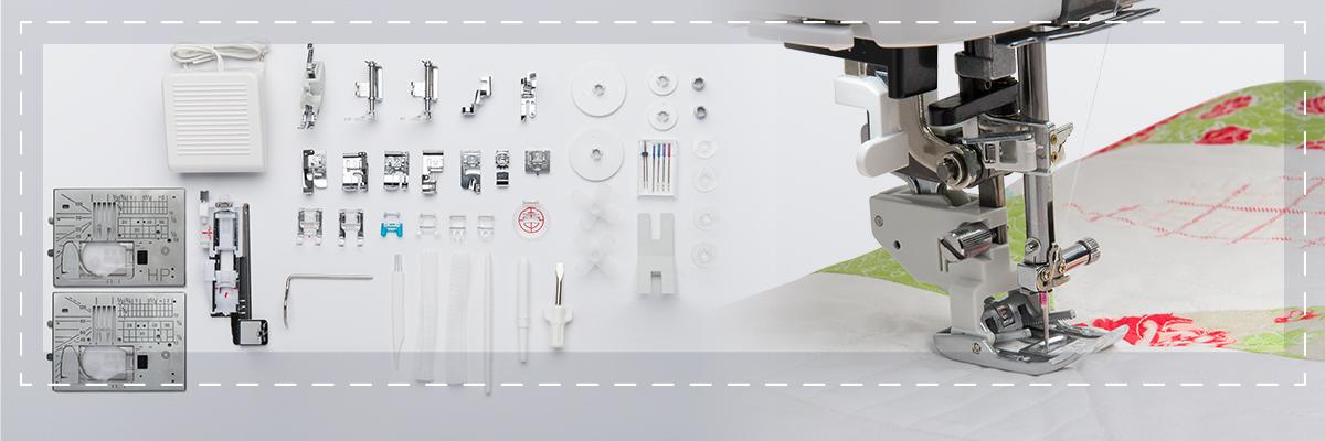 m7 accessories stitches - Janome Continental M7 Professional