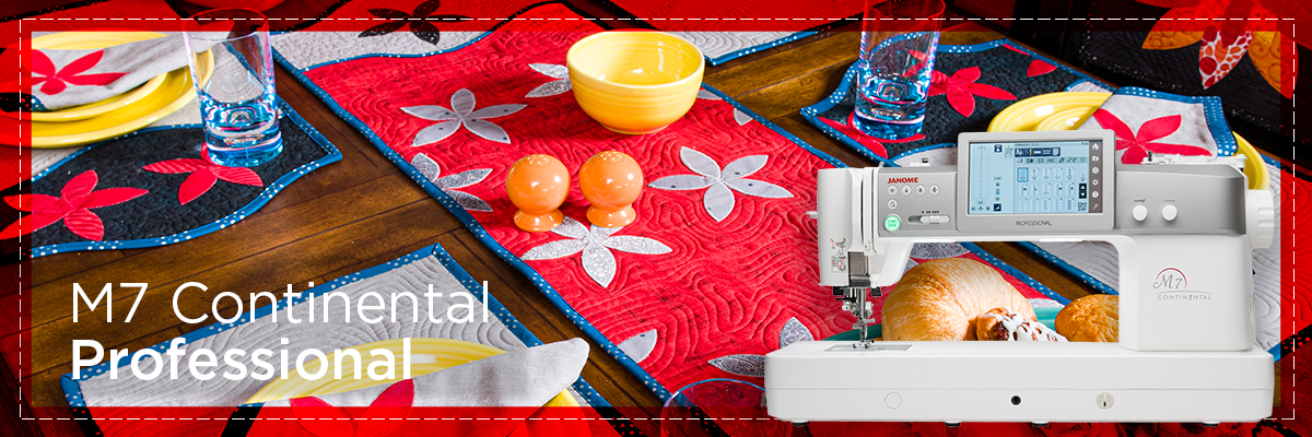m7 banner - Janome Sewing Machines
