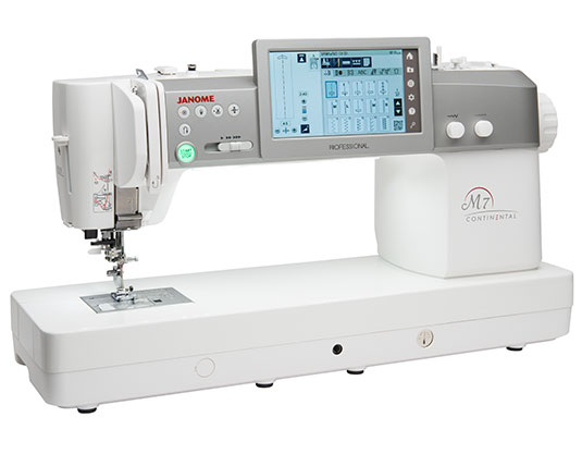 m7 beauty1 - Janome Continental M7 Professional
